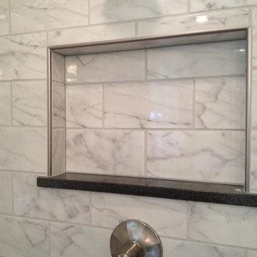 Faux Carrara Tiles