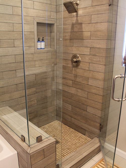 wood look tiles in bathroom wood tile shower ideas pictures remodel and decor 24725