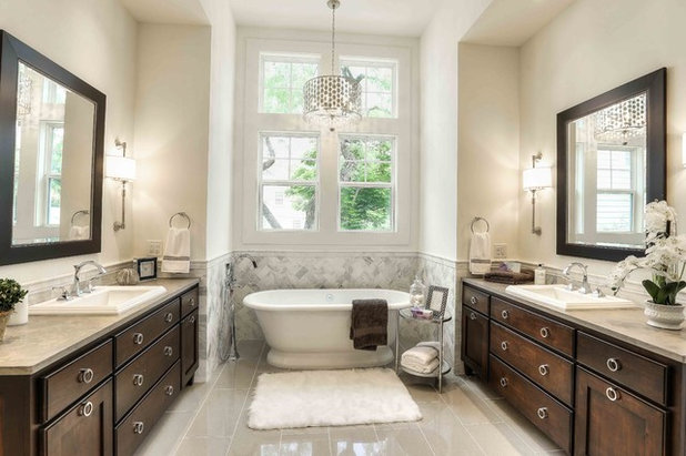 Traditional Bathroom by Luxury Real Estate Services, LLC