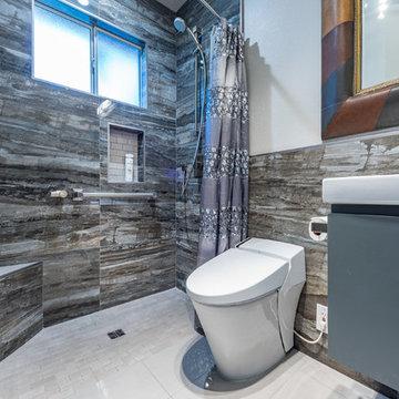 Fawn Lane Bathroom Remodel - Modern Twist