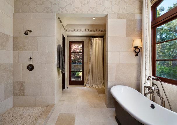 Mediterranean Bathroom by Pacific Peninsula Group