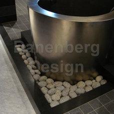 Modern Bathroom by Danenberg Design