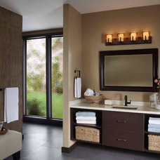 Mediterranean Bathroom by Littman Bros Lighting