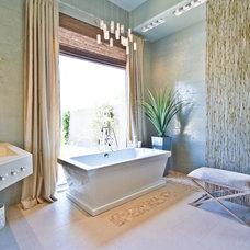 Transitional Bathroom by AB Design Elements, LLC