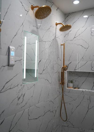 Scandinavian Bathroom by Change Your Bathroom, Inc.