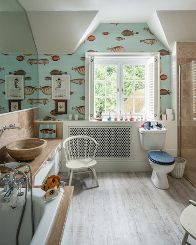 Eclectic Bathroom by Unique Homestays