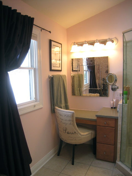 Traditional Bathroom by Your Favorite Room By Cathy Zaeske