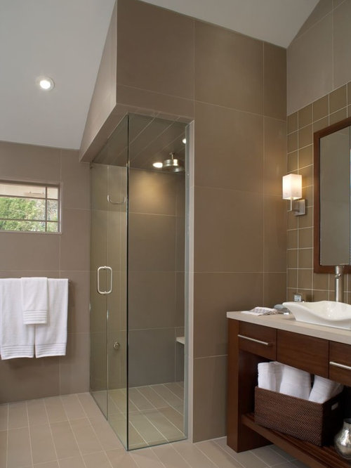 enclosed shower houzz