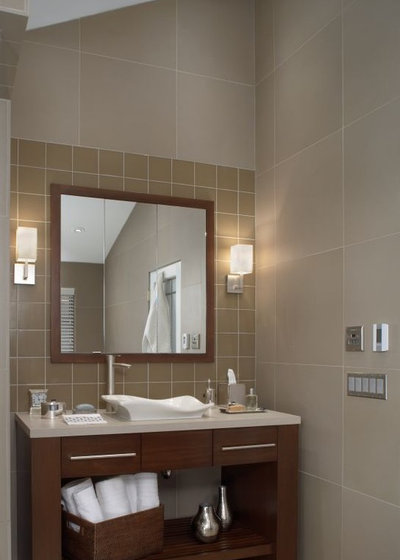 Contemporary Bathroom by Xstyles Bath   More  Inc. A Stylish Place for Bath Towels