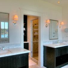 Traditional Bathroom by Christian Gladu Design