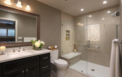 Fabulous Bathroom Stories and Guides Room of the Day A Bathroom Remodel to Celebrate a th Anniversary