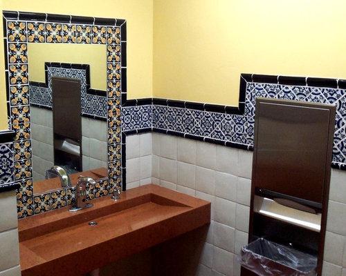 save photo - Restaurant Bathroom Design
