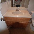Back Bay Modern Bathroom Boston By Annie Hall