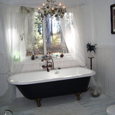 Traditional Bathroom by Fiddlewood Creations
