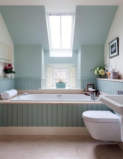 Transitional Bathroom by Robertson Lindsay Interiors