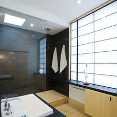 Asian Bathroom by Gardner Mohr Architects LLC