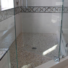 Traditional Bathroom by Amy Tyndall Design
