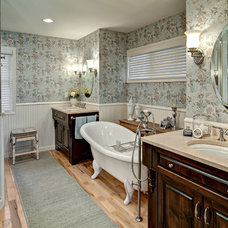 Traditional Bathroom by Filament Lighting & Home