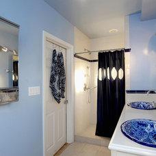 Mediterranean Bathroom by LA Dwelling