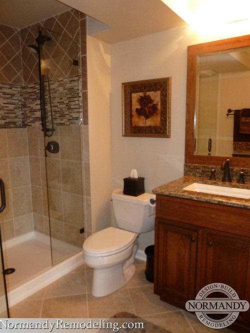 Basement Bathroom Houzz