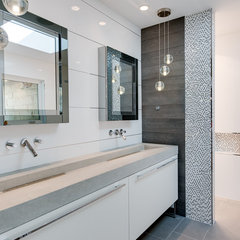 contemporary bathroom Finished House