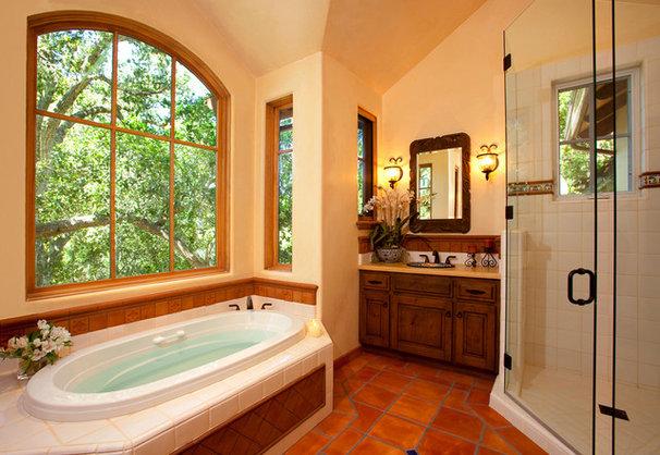 Mediterranean Bathroom by McNamee Construction