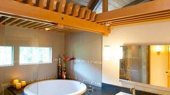 Fir Trellis Master Bath