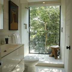 eclectic bathroom by Eddie Lee Inc