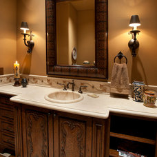 Southwestern Bathroom by Sonoran Classic Builders