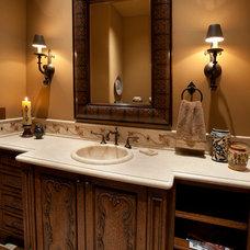 Mediterranean Bathroom by Sonoran Classic Builders