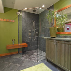 Tropical Bathroom by Alicia Blas Macdonald