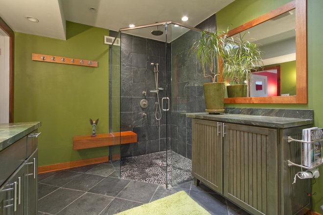 Tropical Bathroom by Alicia Blas Macdonald
