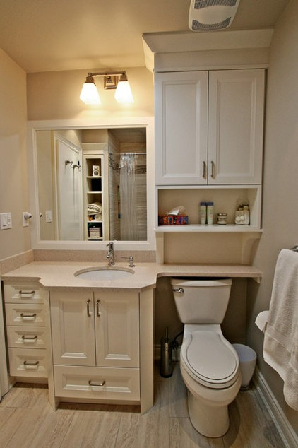 Traditional Bathroom by Interior Works Inc