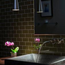 Contemporary Bathroom by AoDK Inc.
