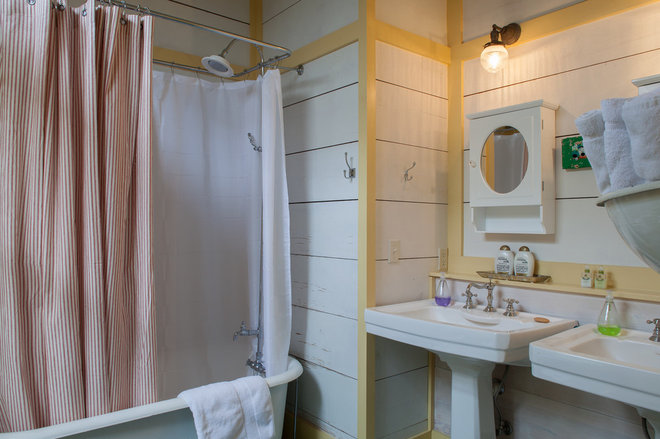 beach style bathroom by Historical Concepts