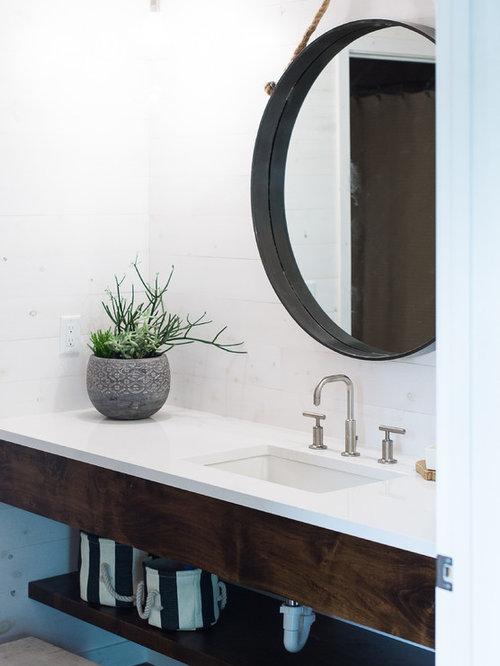 Salles de bains et wc bord de mer photos et id es d co - Salle de bain bord de mer ...