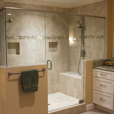 Traditional Bathroom by Mauk Cabinets by Design