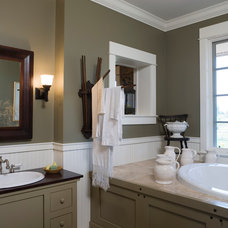 Traditional Bathroom by roth sheppard architects