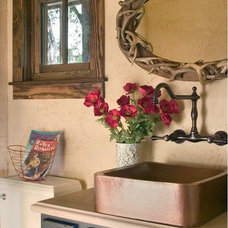 Rustic Bathroom by Coburn Development