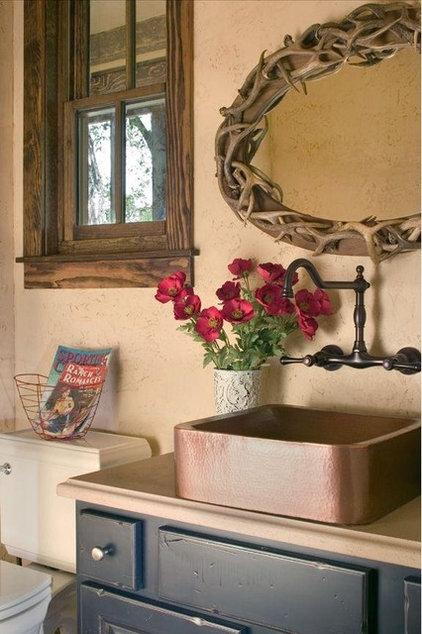 Rustic Bathroom by Coburn Development