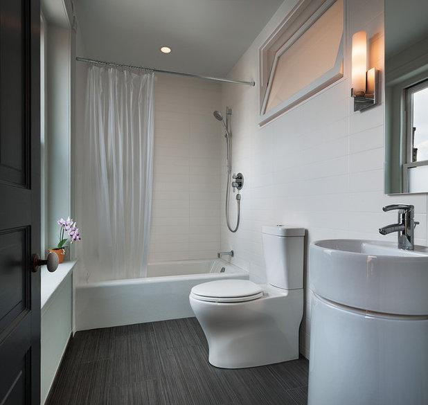 Contemporary Bathroom by Sandvold Blanda Architecture + Interiors LLC