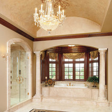 Traditional Bathroom by Housetrends Magazine