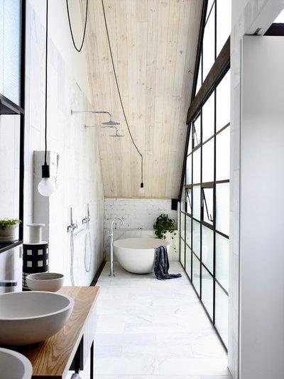Industrielt Badeværelse by Architects EAT