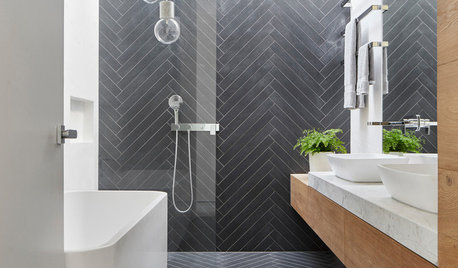 These 7 Tiles Ideas Can Make a Tiny Bathroom Feel Bigger