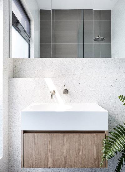 Contemporary Bathroom by Zunica Interior Architecture & Design