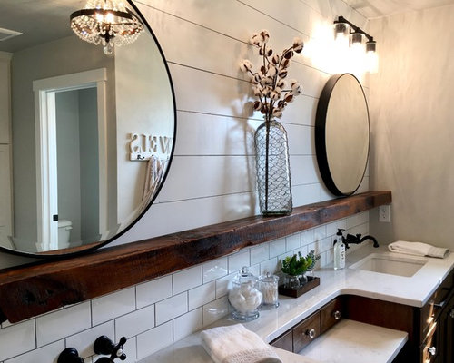Fixer Upper Bathroom Ideas Photos Houzz