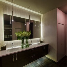 Contemporary Bathroom by Lightology