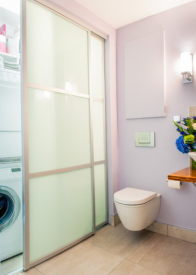 Houzz Tour Couple Pares Down And Pumps Up The Style
