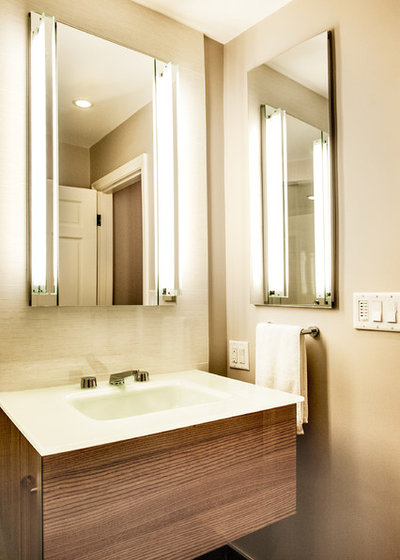 Fresh Contemporary Bathroom by Lee Kimball
