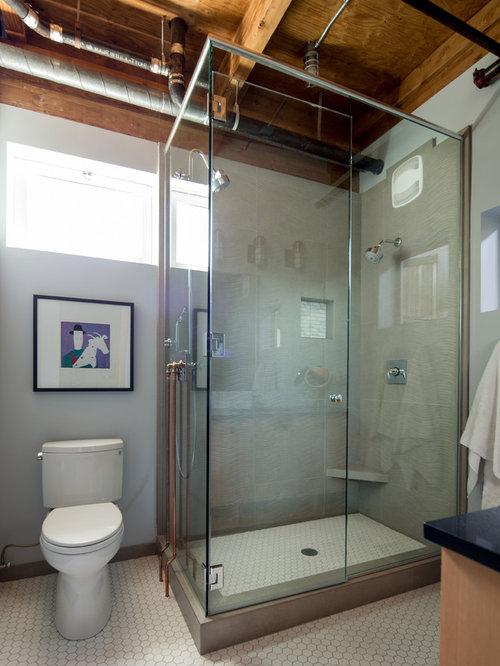 Beading For Bathroom Floor : Industrial beading bathroom and cloakroom design ideas